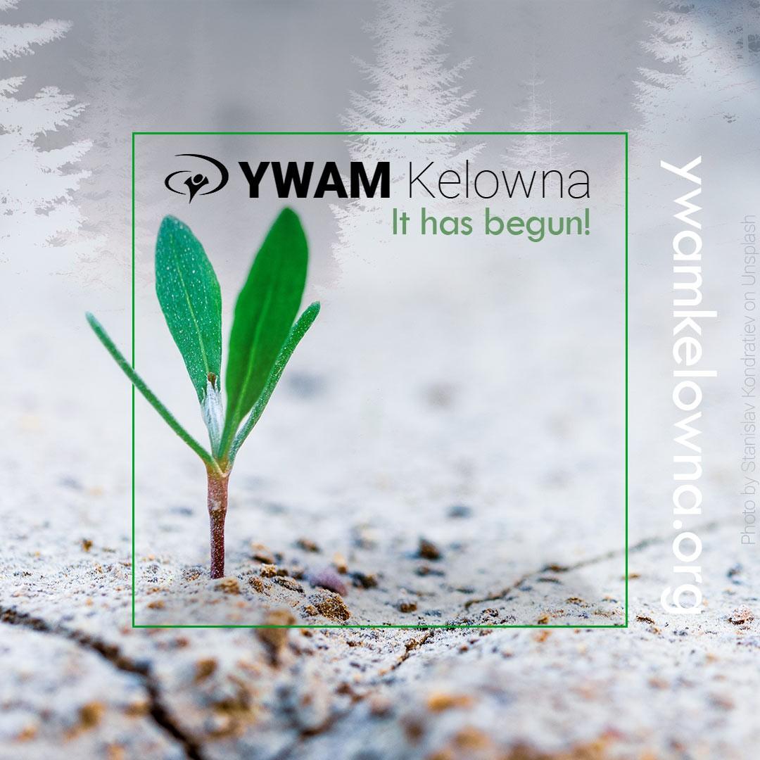 It has begun.The dream of YWAM Kelowna started growing.  2020 http://ywamkelowna.org?platform=hootsuite&utm_campaign=HSCampaign  Thank you, YWAM Mendocino Coast , YWAM Canada and the YWAM elders in this region.