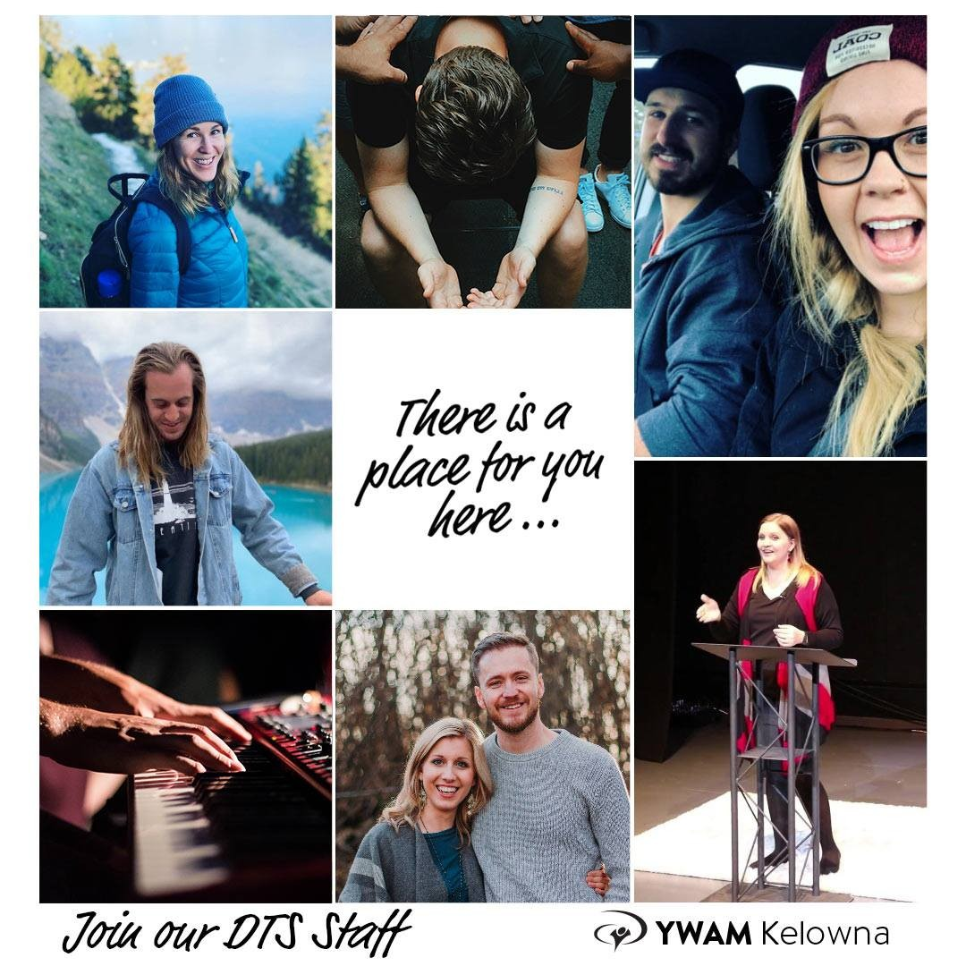 Come inspire and lead the next wave of YWAMers at YWAM Kelowna. Staff a DTS. We have a place for you here, where you can be effective, fruitful and challenged to be all you feel God calling you to. Contact our DTS Leader, Kristen Michael:  kristen.michiel@ywamkelowna.org @kteeple33 . . . .