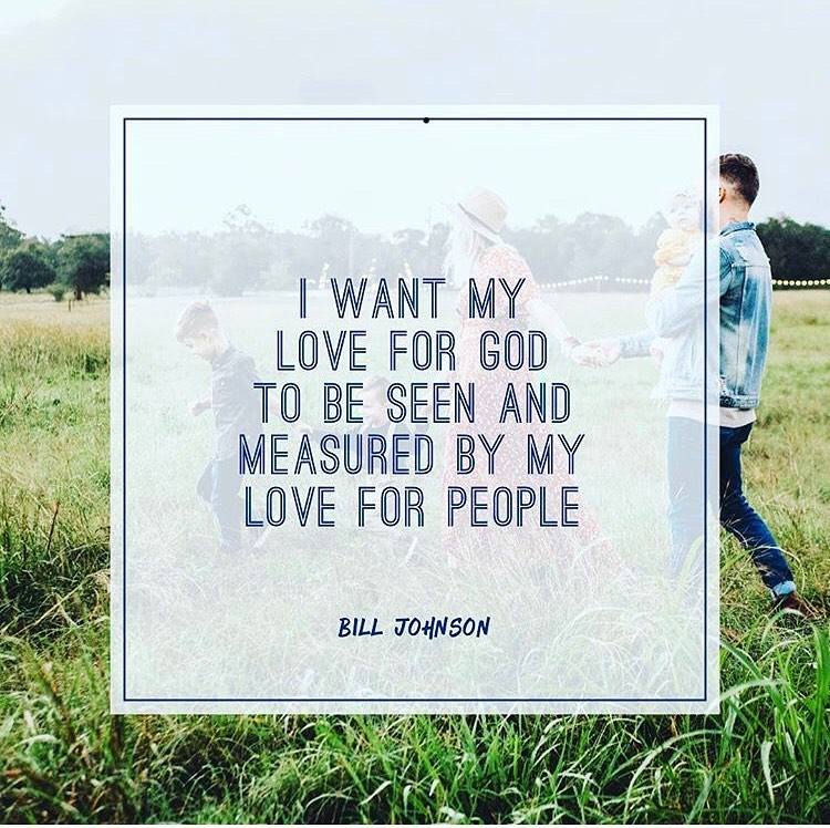 We're in a season that requires more creativity to demonstrate love. Fix your eyes on Him and let the Lord remind you how much love He has poured out on you when you weren't walking with Him or meeting with Him face to face.  May it fuel your plans to love on others.  @billjohnsonministries