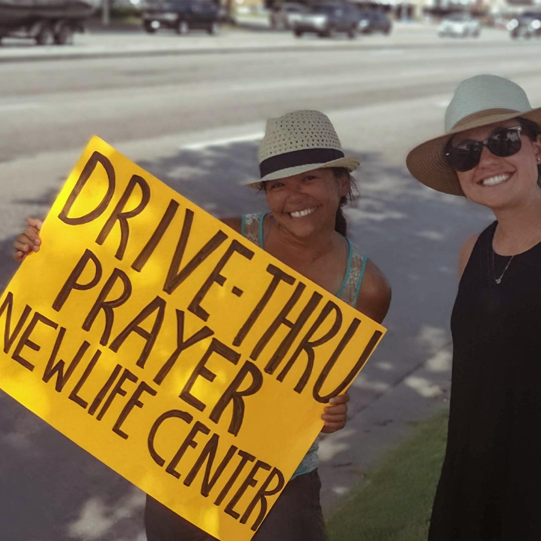 Drive-thru prayer with @ywamturnervalley. Check out this slide show! We had so much fun with these guys doing drive-thru prayer @newlifekelowna - and then some Treasure Hunts based on the teaching of @kevindedmon (thanks Kevin!) - so good! Thanks guys for coming out! . . . . .